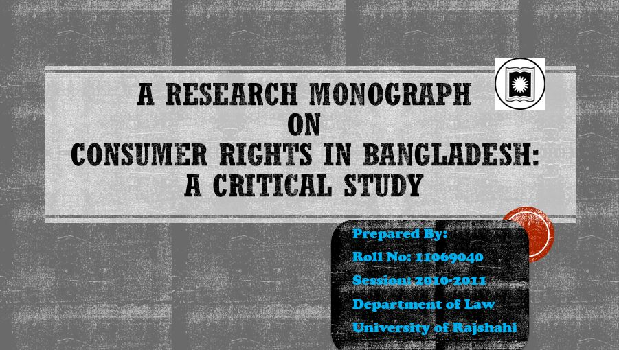 Consumer Rights in Bangladesh