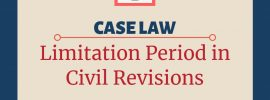 Limitation period for civil revision